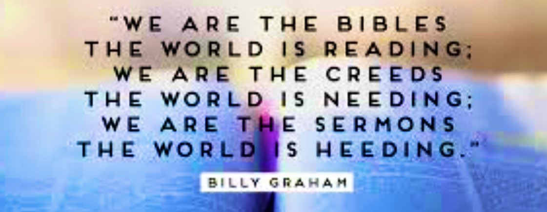 You're the only #WordsOfLife, some will ever read