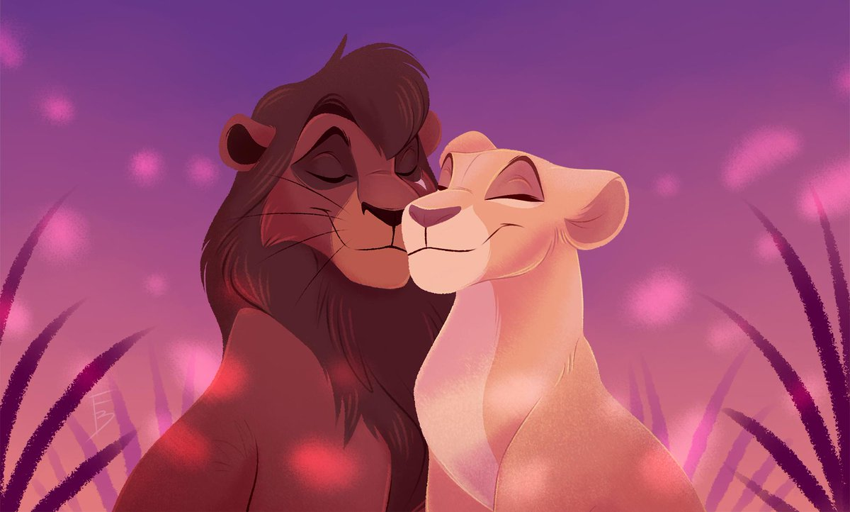 """,,Love is never wrong And so it never dies""""  #thelionking  #fanart <br>http://pic.twitter.com/0GbIUw01Rp"""