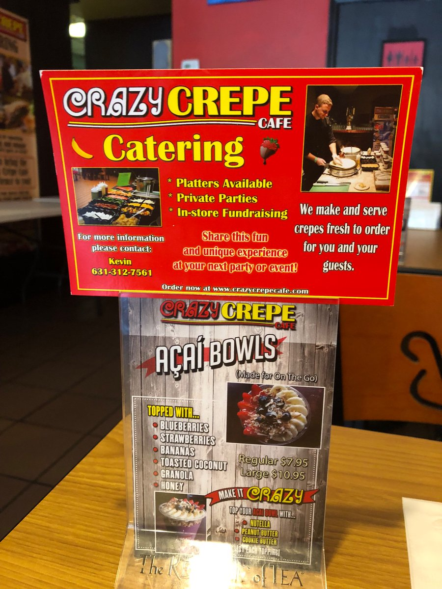 #EnjoyingLife while having #Brunch at the Crazy Crepe Cafe in Lake Ronkonkoma. https://t.co/zHjPUa9ZpO