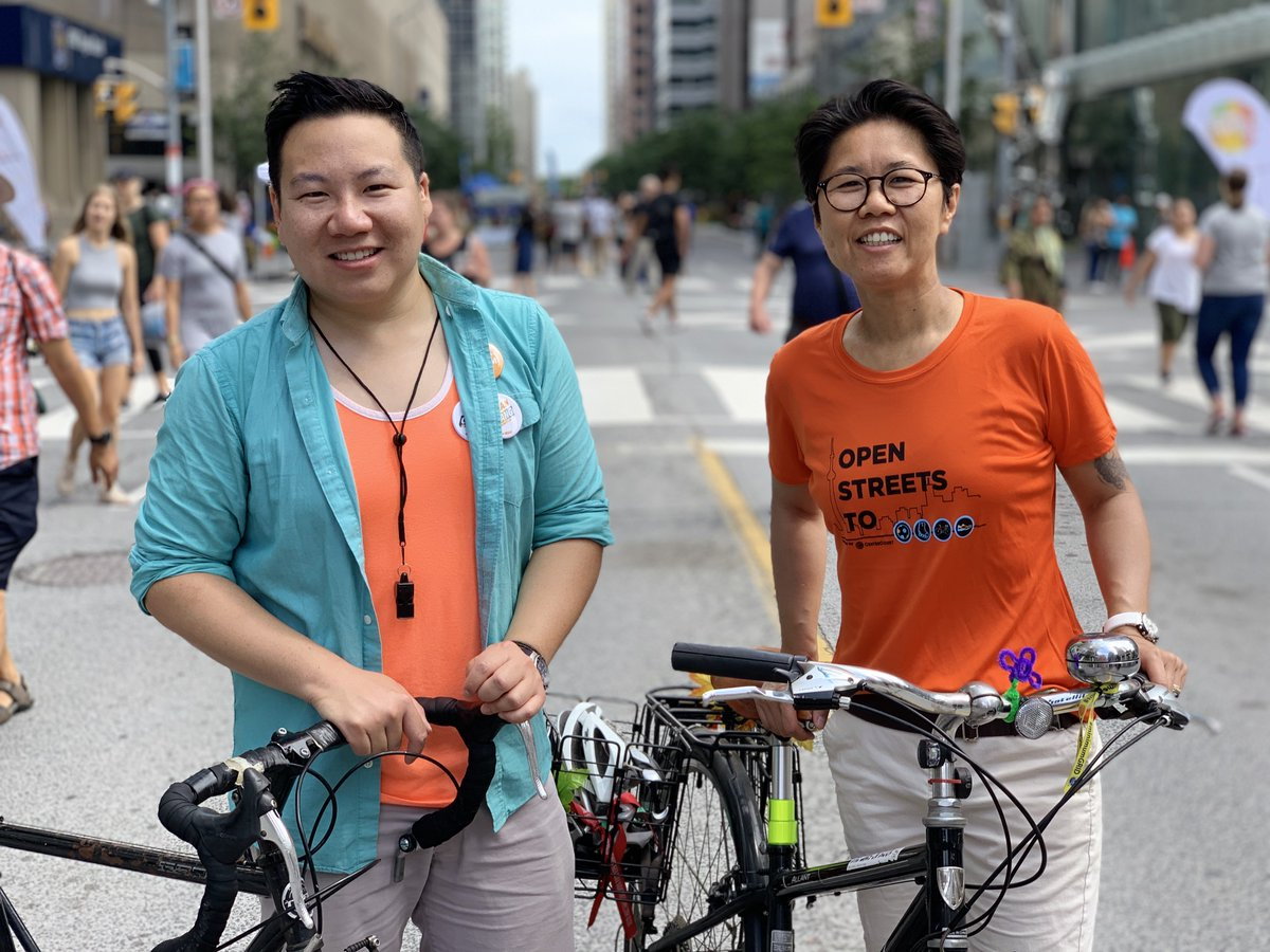 Thanks for all your work making #OpenStreetsTO happen, @kristynwongtam! Initiatives like this that make Toronto more liveable are so vital to our city.<br>http://pic.twitter.com/njEW4ZCWH2