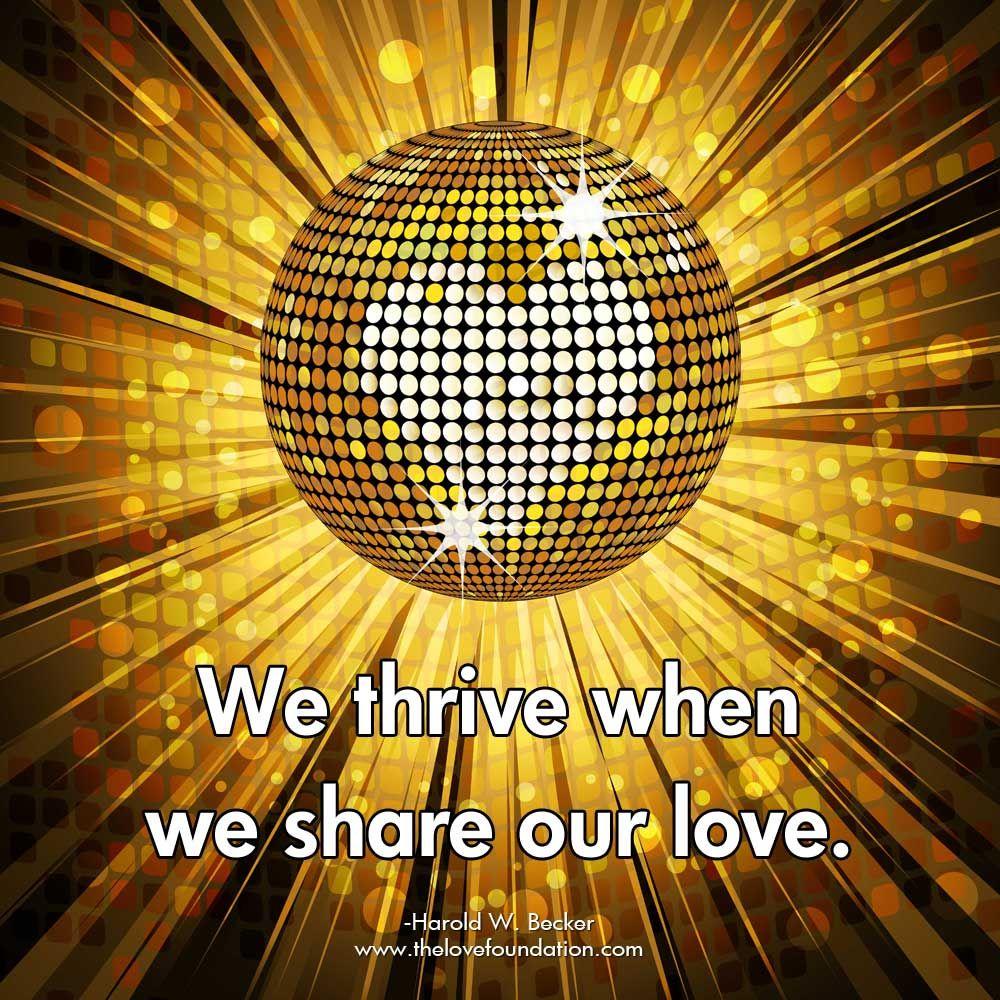 #SharetheLove #LoveChangesEverything #LightUpTheLove #LUTL #lifequotes #TogetherStronger #StarfishClub #JoyTrain #ThinkBIGSundayWithMarsha