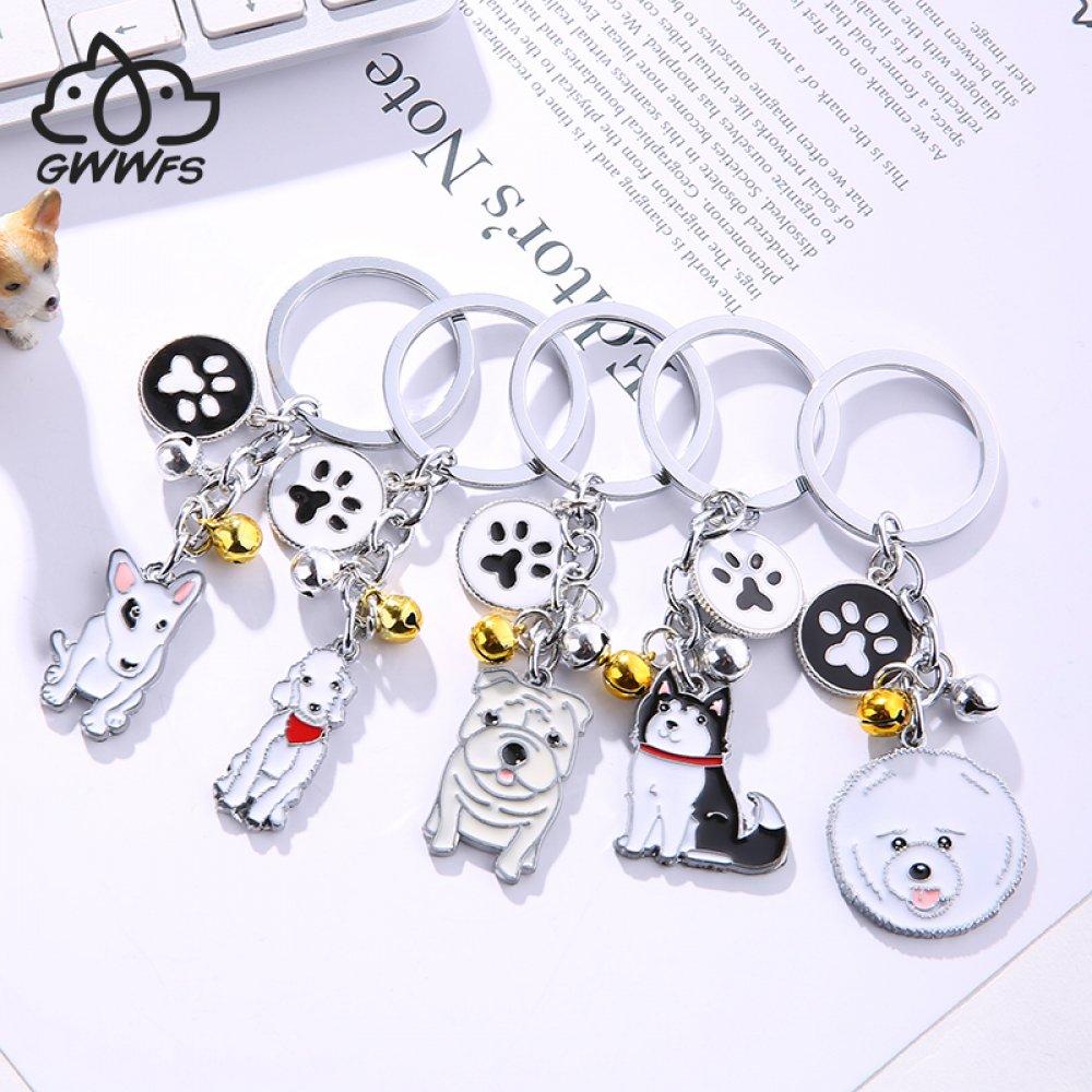 #hashtag3 Cute Dog Keychain Metal Pet Keychain Bag Key Ring Lovely Animal Bells Keychains Car Keyring Corgi Sherina Husky Many Dog Breeds-in Key Chains from Jewelry & Accessories https://t.co/bvuCh3sbrq https://t.co/wUNtCuaE8X
