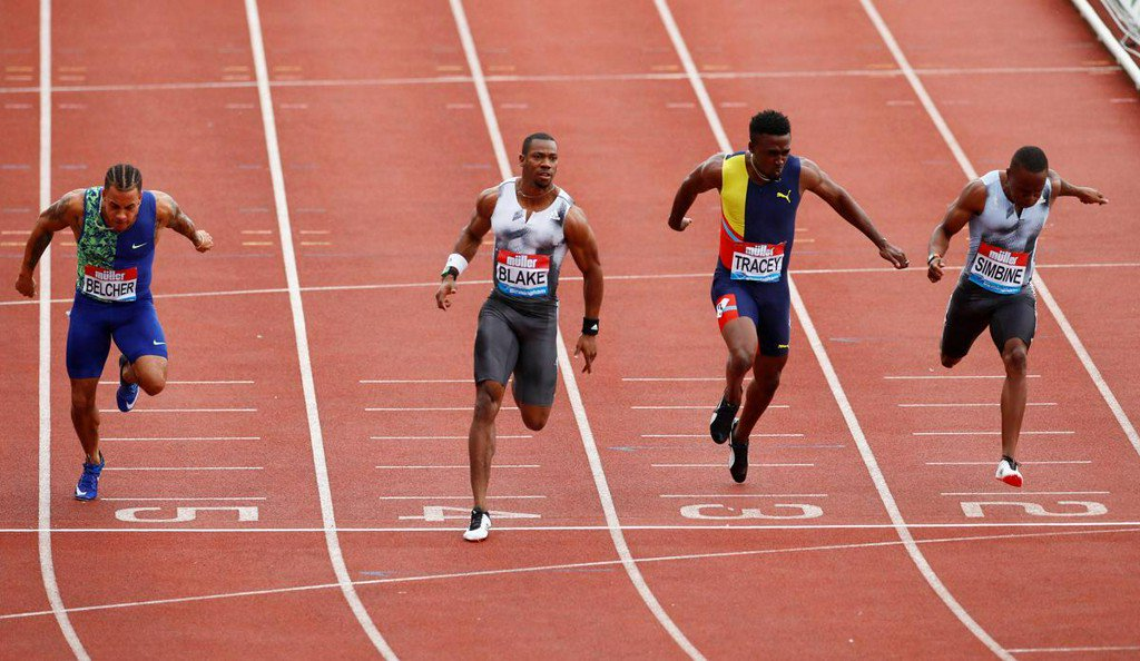 Blake blasts back with 100m Diamond League win, eyes world champs reuters.com/article/us-ath…