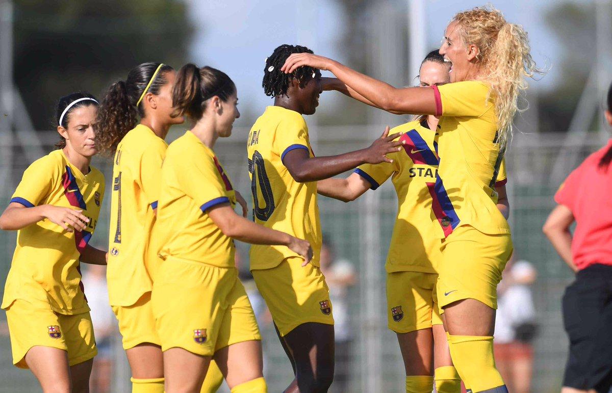 FINAL!  @MontpellierHSC - @FCBfemeni (0-1)   @AsisatOshoala (6')  #FCBlive #ForçaBarça<br>http://pic.twitter.com/RSVJvgjBmW
