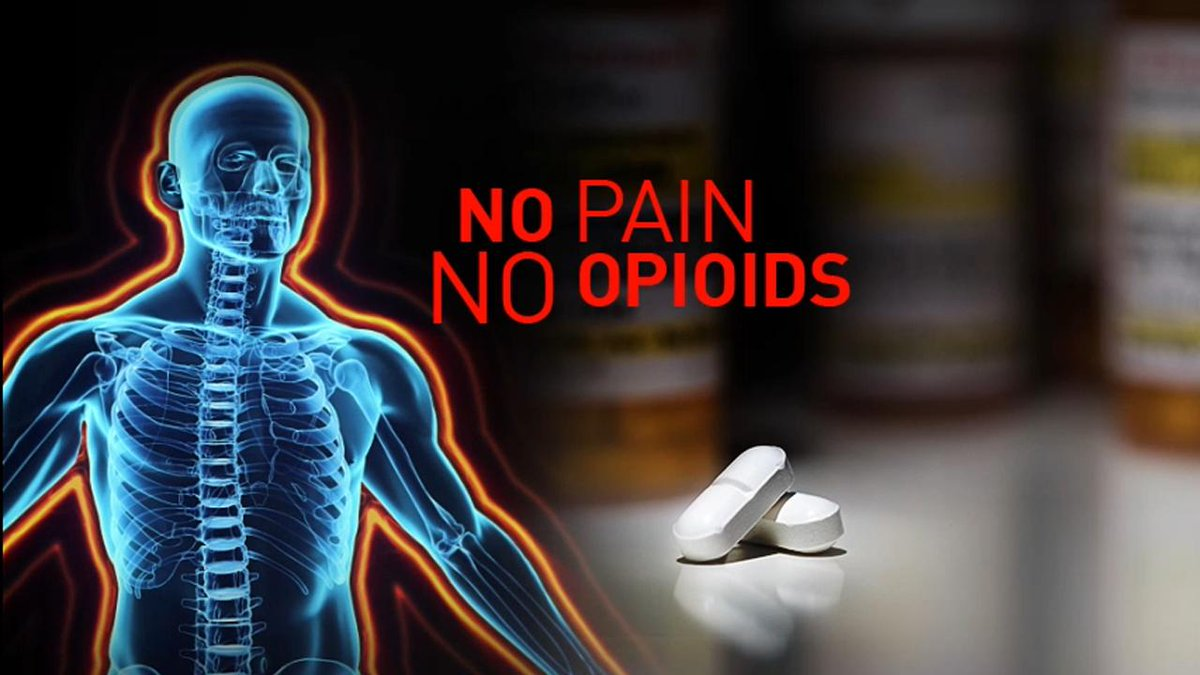 A different take on pain management -- without opioids. @FullMeasureNews Watch at the link below.