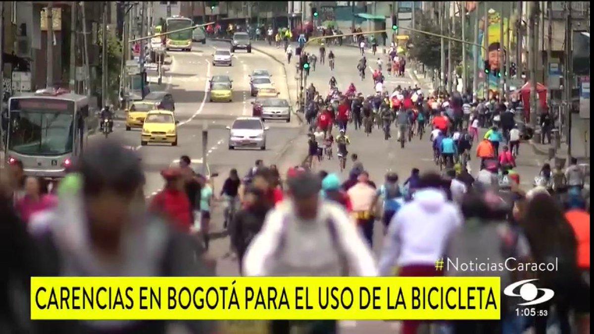 A pesar de que Bogotá avanza en uso de la bicicleta, Veeduría Distrital reveló las falencias que tiene la ciudad - http://bit.ly/2uQzKwL
