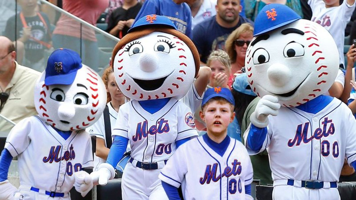 Mr. Met's Son Beginning To Think He Adopted https://trib.al/eMZ2cvw