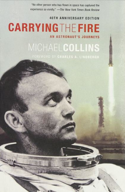 """The pilot of the Columbia was Michael Collins @AstroMCollins , member of the crew of Apollo 11 and author of the book """"Carrying the Fire"""". #Apollo11 #Apollo50th #50JahreMondlandung #Apollo50 #apollo11anniversary #MoonLanding50<br>http://pic.twitter.com/RIKaAdy0U7"""