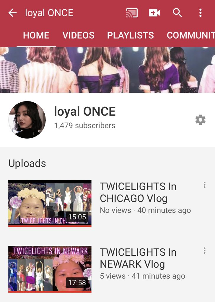 Aaandd they're finally up after 2 weeks of bad wifi and the uploads constantly failing. Please watch, like, and subscribe guys  #TWICELIGHTSinNEWARK #TWICELIGHTSinCHICAGO<br>http://pic.twitter.com/D6gGjdw6wx
