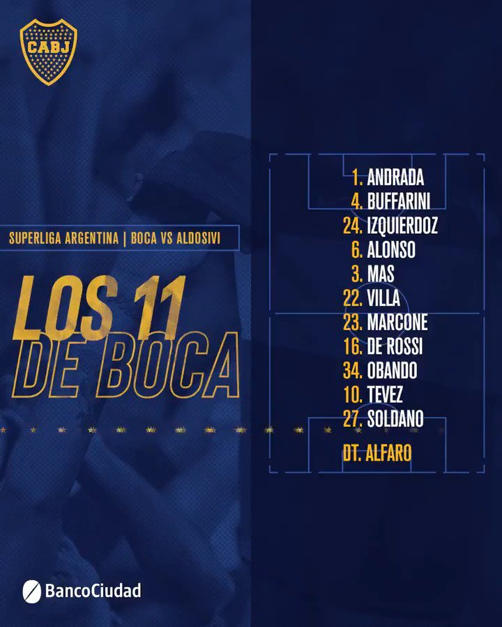 @BocaJrsOficial's photo on De Rossi