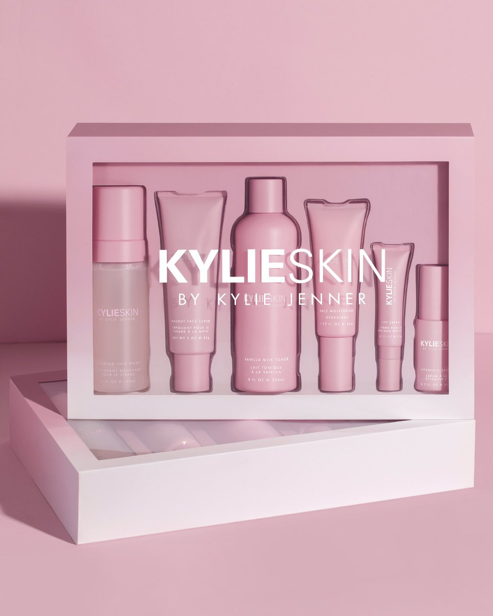 I know you guys have been waiting for these and I'm so excited that my @kylieskin  sets are BACK tomorrow 💕