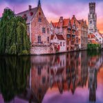 Image for the Tweet beginning: Sometimes #Bruges looks so pretty