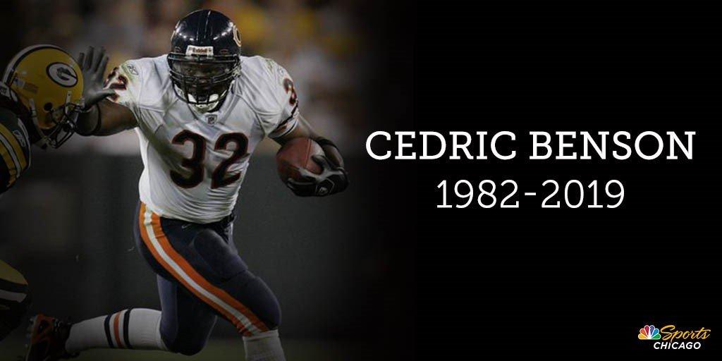 Rest in peace Cedric Benson bit.ly/2Z2aOoP