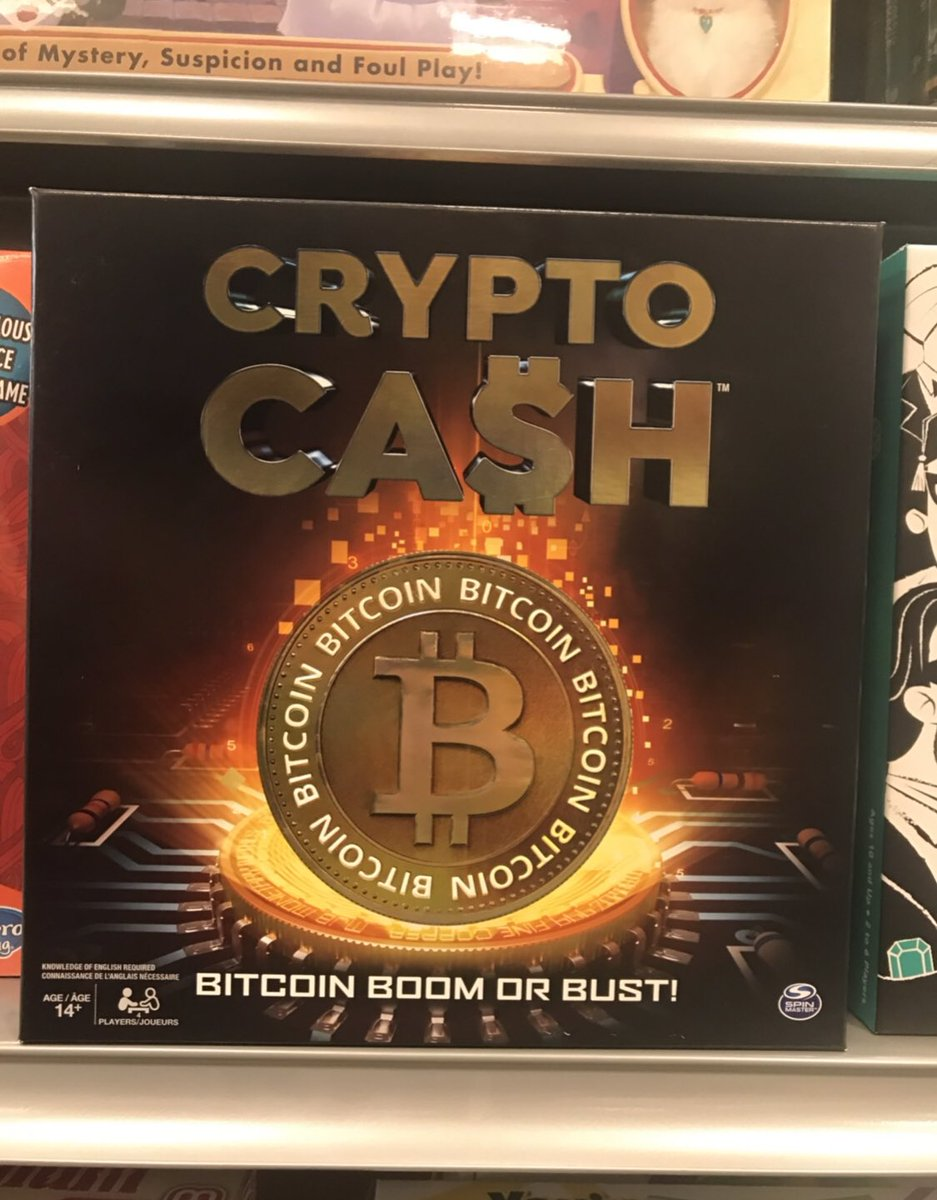 At the mall taking a break from my phone and crypto and  I come across this game!!!!!    #Bitcoin #MassAdoption <br>http://pic.twitter.com/UiMAxjZOSI