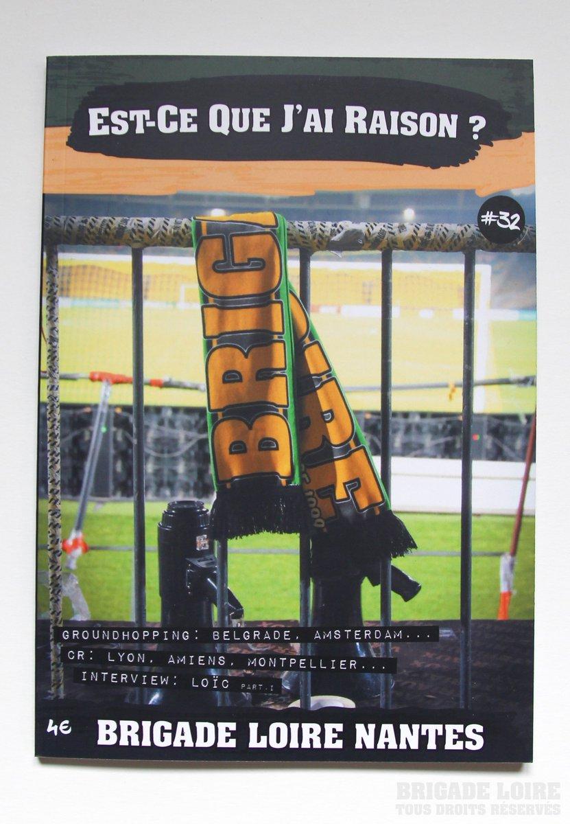Un grand merci à la Brigade Loire qui a compris le but de notre démarche et nous a fourni lensemble des couvertures de leur fanzine Est-Ce Que Jai Raison ? avec de super photos. 📘Nouvelle sortie : Est-Ce Que Jai Raison ? #32, Brigade Loire - Août 2019 #ProchainFanzine