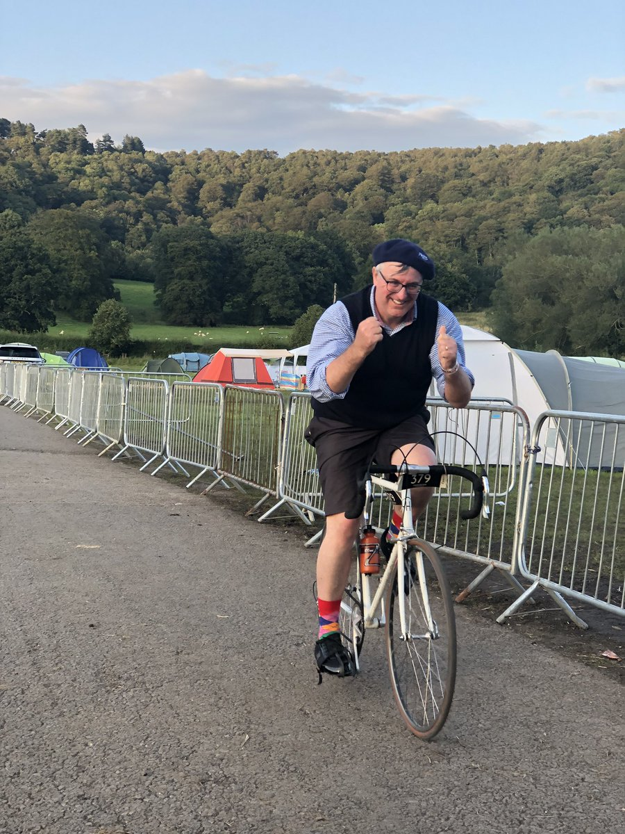 Final Rider arrived home safe @EroicaBritannia tonight! Andrew has has an amazing story and made it back to base to cheers and hooplas from the EB team and family. Well done everyone, hero status for you all! #eroicabritannia #hero #the500 #whatayear #2019 #UntilNextYear ...... <br>http://pic.twitter.com/xtMV3nDsnj