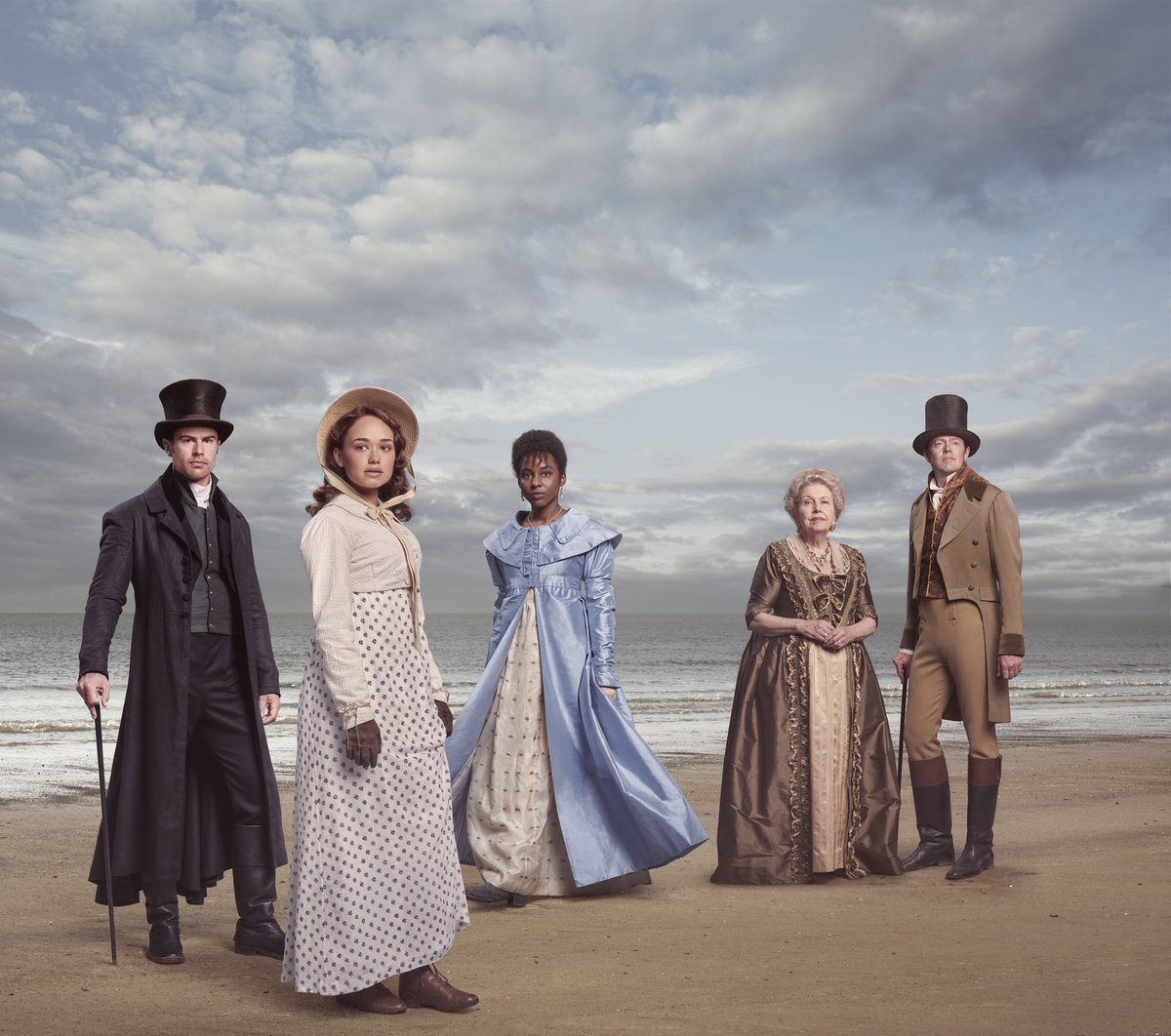ONE WEEK TO GO! #Sanditon airs on ITV, Sunday 25th at 9pm. Join us for an all new drama adapted from Jane Austen's unfinished novel.