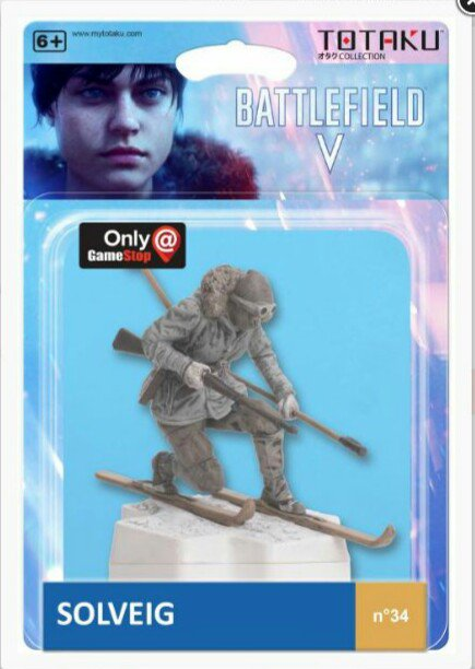 Your chance on win this #BattlefieldV Solveig statue. The winner will be randomly drawn after all rules have been met. 3 Easy Rules: Follow me on @czeLasty87  Retweet this original tweet. Sending picture with Liberator or Tractor kill under this original tweet. END:23 August<br>http://pic.twitter.com/9wNTvQE8uq