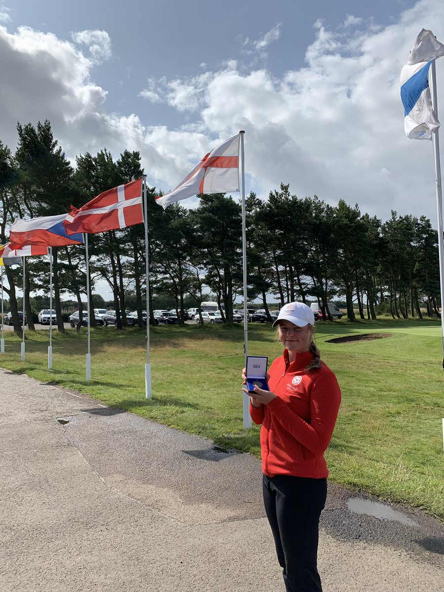 What a week at the british girls making in to the semi-finals!! Thank you @RandA @panmuregolf for the incredible organisation of the event, to all the volunteers and congratulations to @PiaBabnik, it was a great match💨🌪