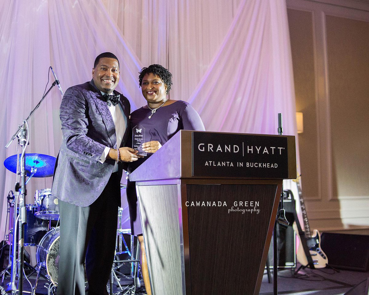 Last year we honored @staceyabrams &others at our Tabitha's House Gala! God gave @edeweysmith this vision 7 years ago &TODAY we have 2 residences that provide housing, counseling, therapy & healing to young girls ages 11-16, who have been victimized by child sex trafficking! <br>http://pic.twitter.com/Pl3nSUvD4K