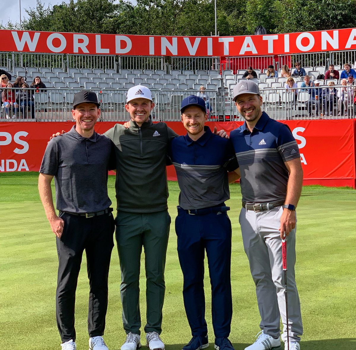 Great event organised by @modestgolf this week for the @ISPSHanda @World_Inv_Golf men and women playing for the same money, on the same course @GalgormResort I hope this is a look into the future of golf ⛳️