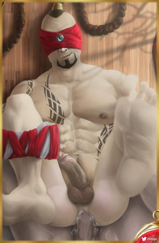 Ahri vs lee sin blowjob sex porn cosplay hentai