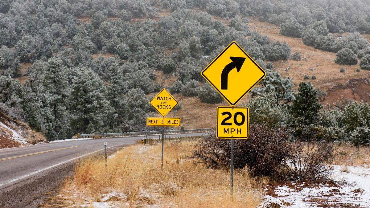 Signs Make Upcoming Section Of Road Sound Pretty Badass https://trib.al/GTGXCFK