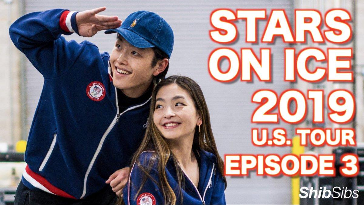 THEY WERE SCREAMING AT US! Stars on Ice (U.S. Tour) Episode 3 ⭐️⛸ youtu.be/XZeurcTNxBQ