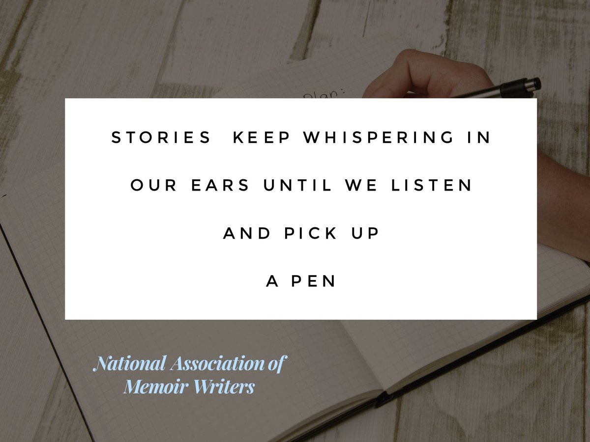 """Stories keep whispering in our ears......."" The power of stories and #writing. #ThinkBIGSundayWithMarsha #IQRTG #wisdom #action #storytelling #SuperSoulSunday #InspireThemRetweetTuesday #transformationtuesday<br>http://pic.twitter.com/Vgjef24SpL"