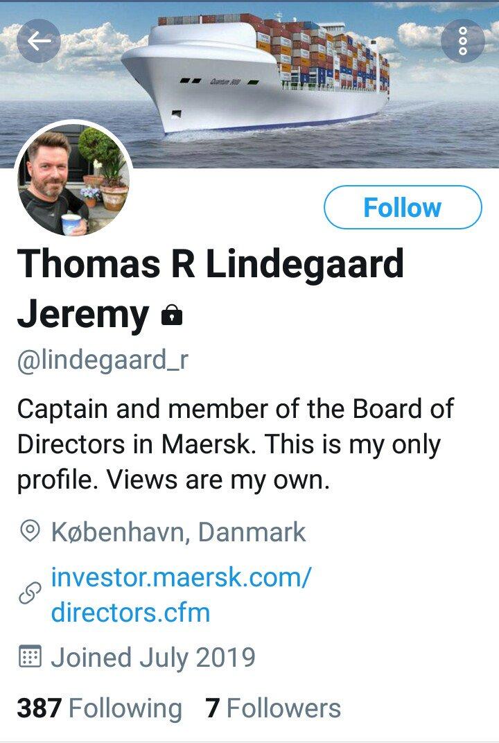 more #fake profiles abusing Captain Thomas Lindegaard