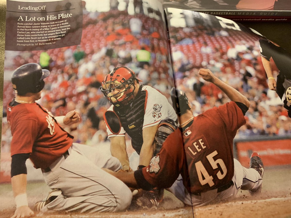 Remember that time Luke Scott and Carlos Lee tried to score at the same time? Me either.