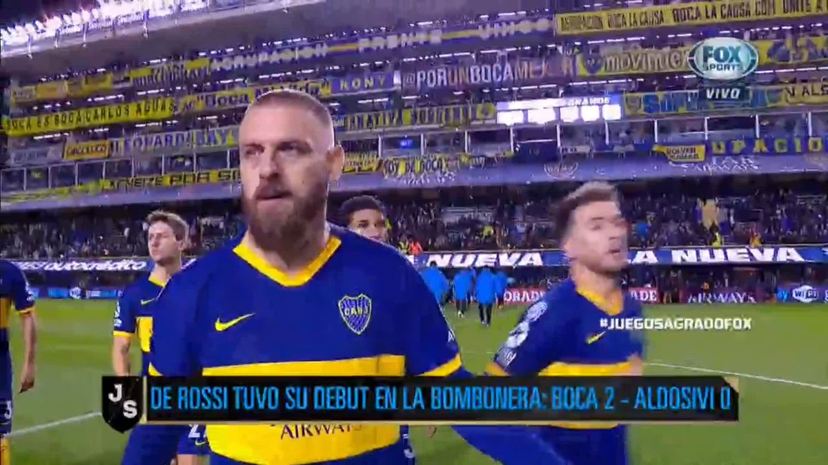 @FOXSportsArg's photo on De Rossi