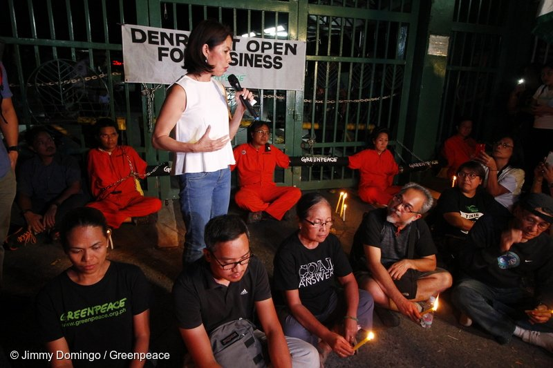 Today, Mother Earth lost one of its fearless environmental defenders whose selfless love for humanity and nature will never cease to inspire us.  Rest in power, dear friend Secretary Gina Lopez  <br>http://pic.twitter.com/Yr8sshf70t
