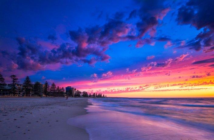 Photo of the day - Glenelg Beach, SA#nature #beautiful #photooftheday #sky #love #sun #sunset
