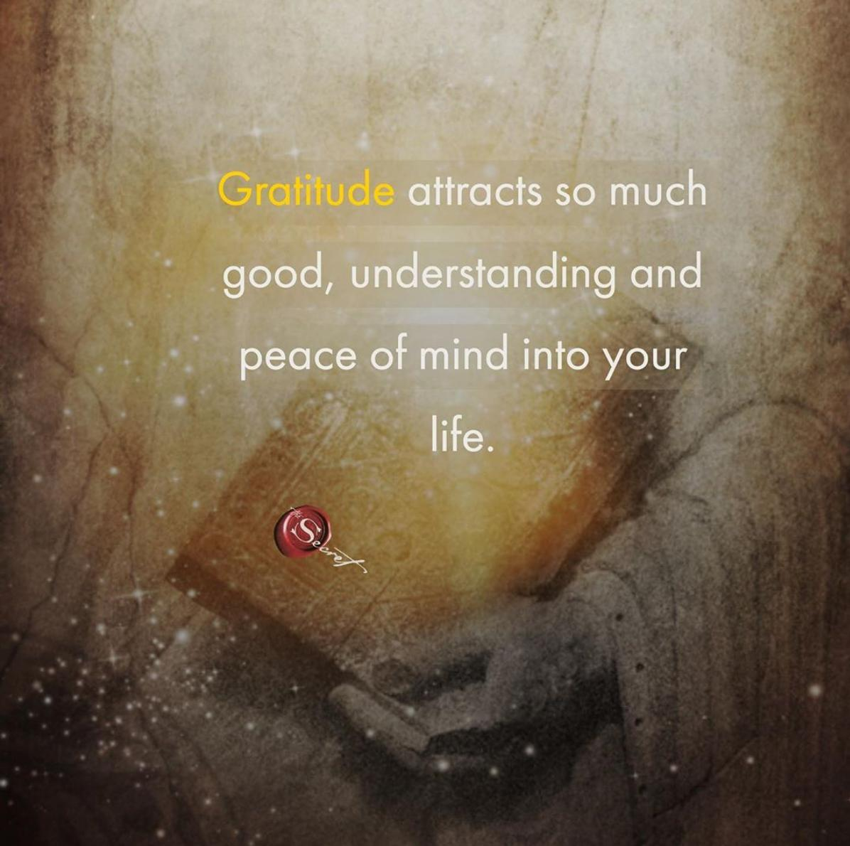 Gratitude eliminates fear, worry, grief, and depression, and brings happiness, clarity, patience, kindness, compassion, understanding, and peace of mind. How do you use gratitude in your life? <br>http://pic.twitter.com/xfyIiFhfYQ