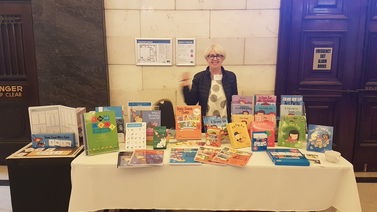 Little Learners Love Literacy have a table at #LDAKilpatrick. Come say hi to @MaureenPollar17 and Speechie Kiaya @LoveLiteracyAU <br>http://pic.twitter.com/kiyfnS598o