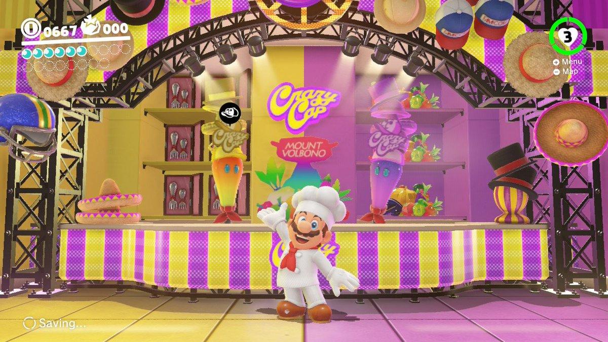 Chef Mario #SuperMarioOdyssey #NintendoSwitch