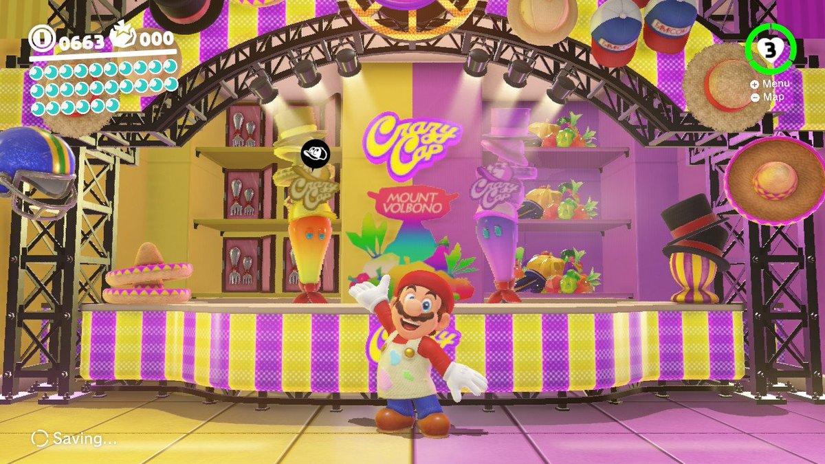 Artist Mario #SuperMarioOdyssey #NintendoSwitch