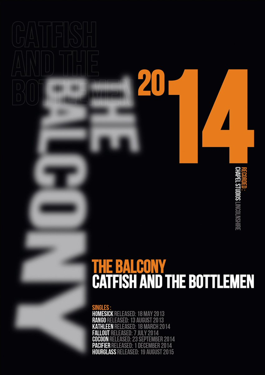The Balcony @catfishandthebottlemen Art Print inspired by the awesome 2014 album from the Llandudno Indie Rock band fronted by Van Mccann and designer Neville Brody. https://t.co/nSR5bdAWDa https://t.co/AZkpcHfPuK
