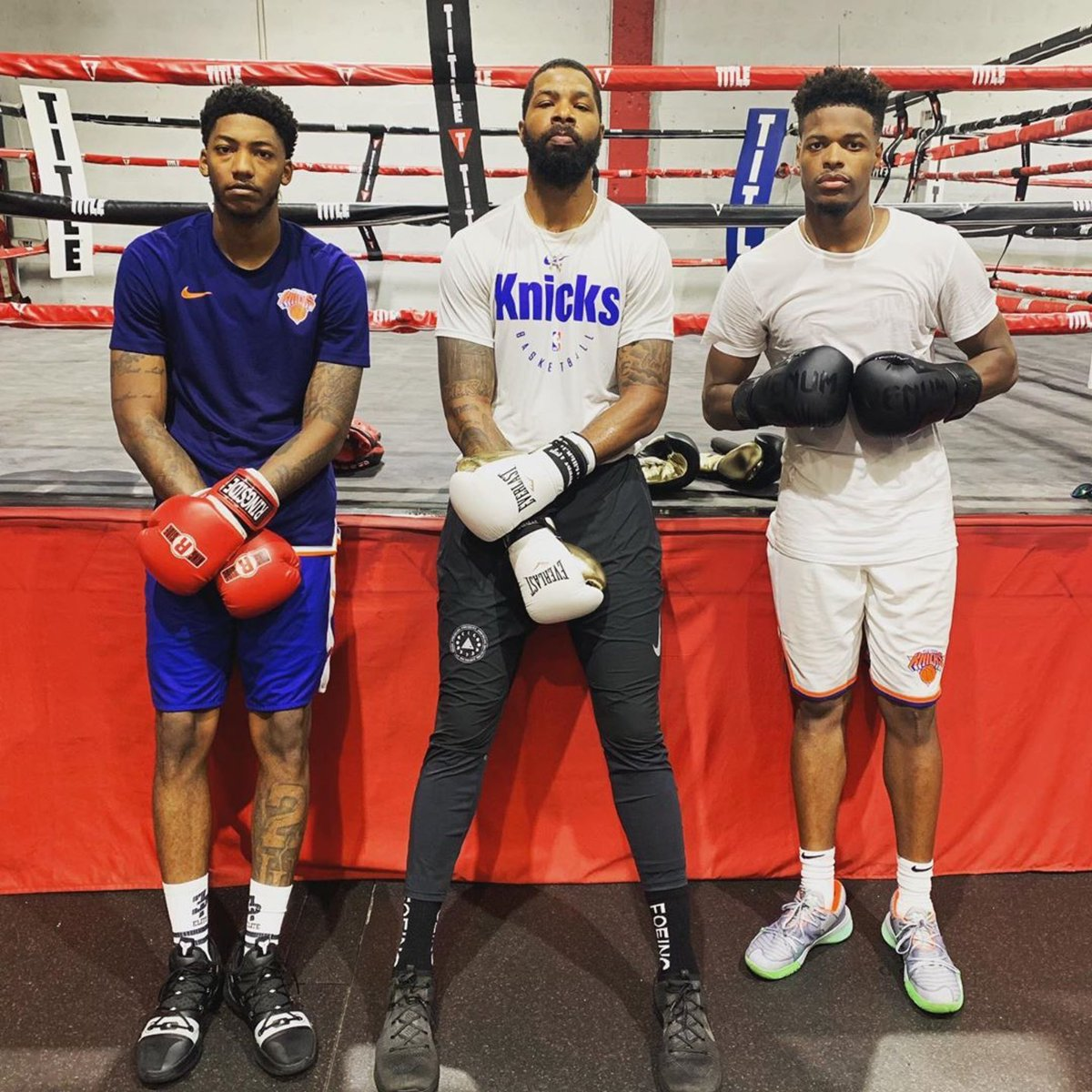 Meet us in the ring 🥊😤