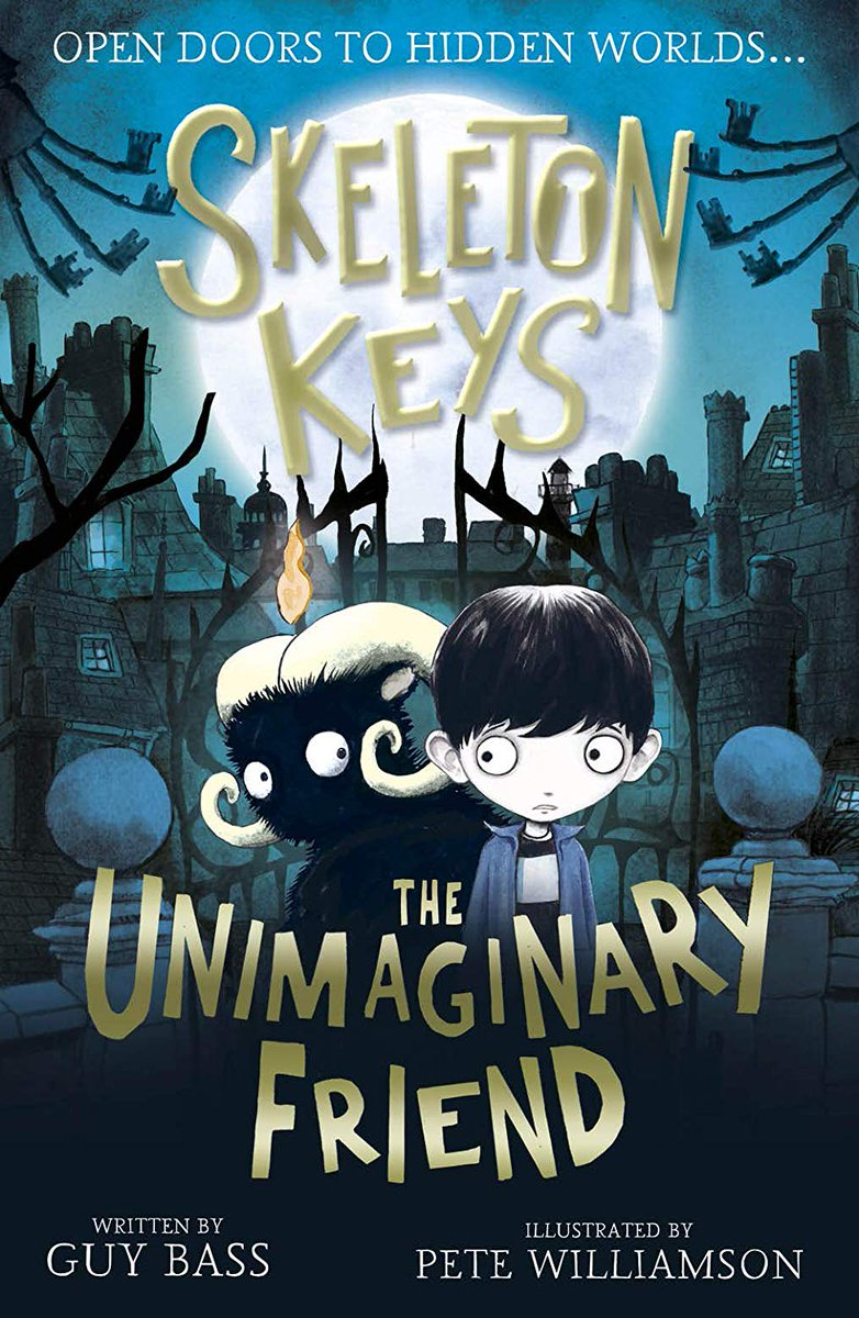 👻 #Giveaway! I have a copy of the next fantastic adventure by @GuyBassBooks and @PeteCWilliamson called Skeleton Keys to giveaway! Just Follow/Retweet to be in with a chance of winning! Ends 22.8.19. UK only 👻 You can read an interview with Guy here: thereadingrealm.co.uk/2019/05/12/din…