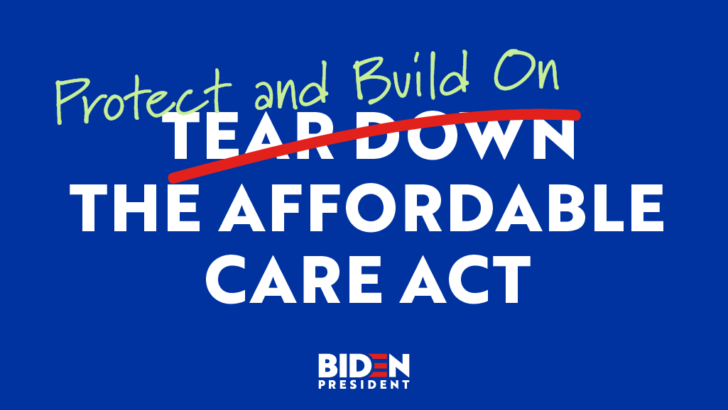 The truth is Obamacare was, and is, a big deal. It covered 20 million additional Americans and protects over 100 million people with pre-existing conditions.  We can't afford to tear it down. We should protect and build on it: https://t.co/IwFG48ED9h https://t.co/P6IWphrtSt