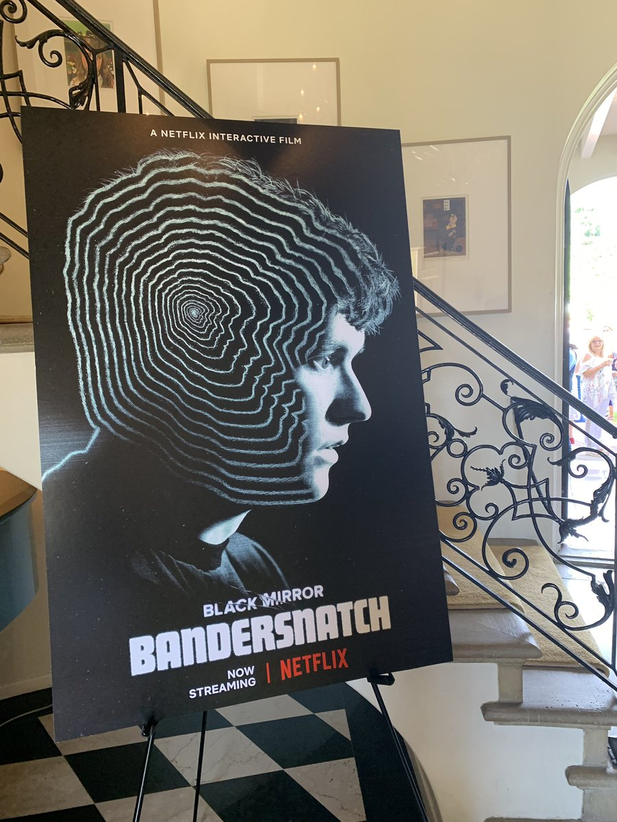 The 2019 #BAFTAGardenParty co-hosted by @netflix @blackmirror #Bandersnatch <br>http://pic.twitter.com/RNe6t6UxCt
