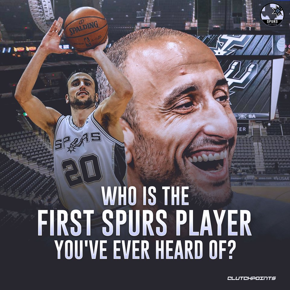 Let's hear it Spurs Nation - who made you fall in love with the game of basketball?   #GoSpursGo <br>http://pic.twitter.com/umnS6WYg1T