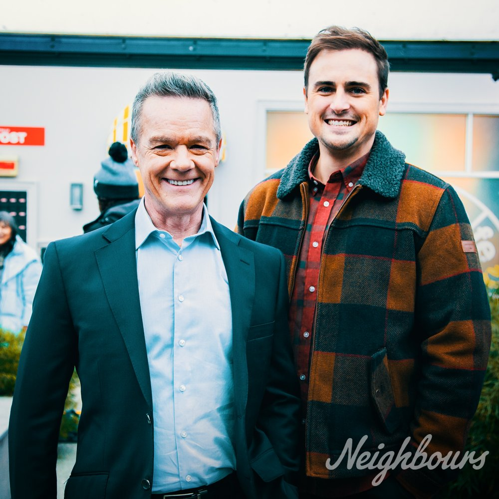 RT @neighbours: Kyle and Paul's relationship summed up… #Neighbours   @dendale  @_chris_milligan https://t.co/oFNxV9M8YB
