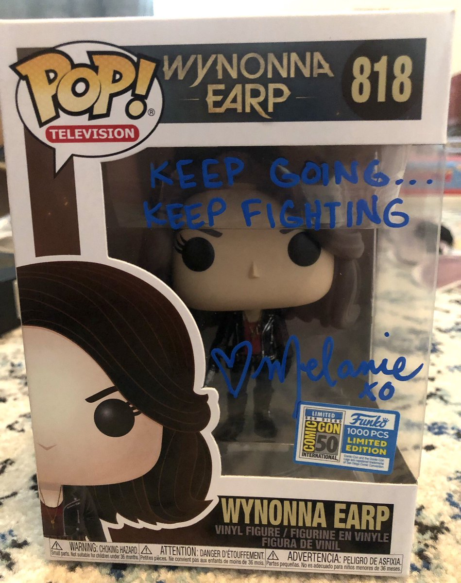 Want to get your hands on the #WynonnaEarp SDCC exclusive Funko Pop? How about one autographed by @MelanieScrofano? Now you can! All to benefit @GRCtalkaboutit, a mental health and suicide prevention non-profit!  Bidding is NOW OPEN:   https:// tinyurl.com/WynonnaGRC       Please share and RT!<br>http://pic.twitter.com/TwpLYU1gKq
