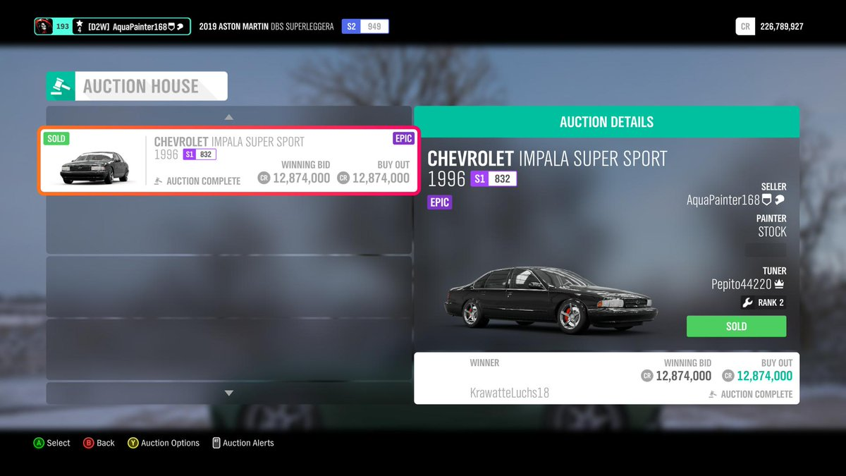 Which Cars should I get for 6,250,000CR? (FH4) , Forza