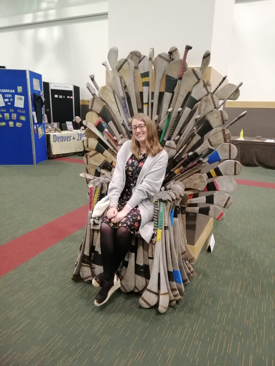 I won the throne of games!  #Dublin2019<br>http://pic.twitter.com/wx4cb8Tcc5