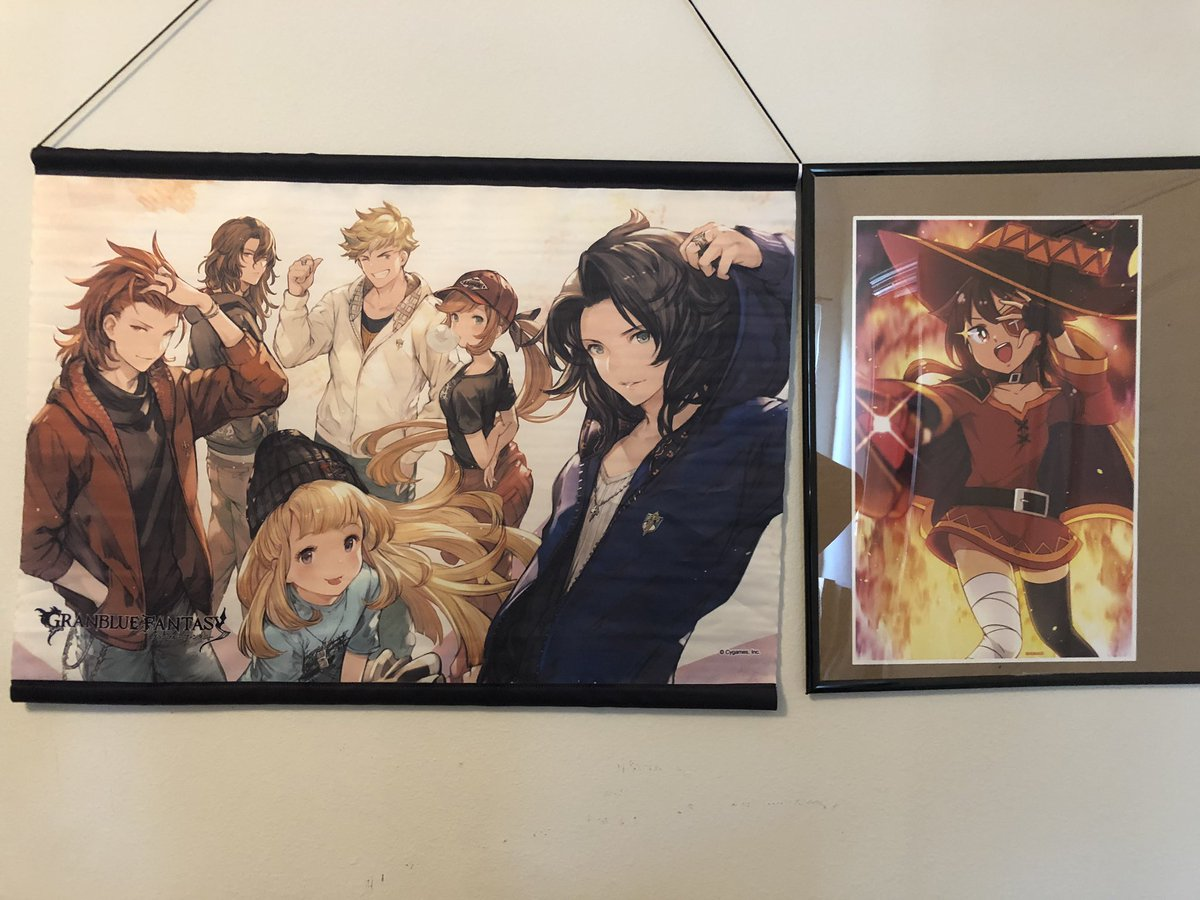 So when do we get the gbf x konosuba crossover so I can get the double explosion mages together please! @_shunao credits for the megumin and just a small pierce of merch from @granbluefantasy <br>http://pic.twitter.com/iW7j4z7xEh