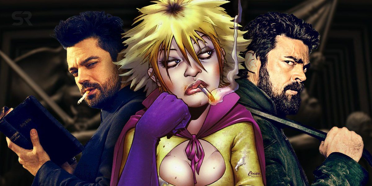 After the success of Preacher and The Boys, The Pro should be the next Garth Ennis comic to get a TV adaptation: buff.ly/30hw72e
